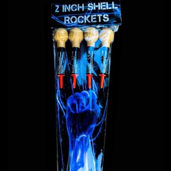 2 inch Shell Rockets